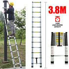 Aluminium Telescopic Ladders Step Ladder Extendable Long Extension 2.6M - 6M UK