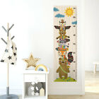 Tribal Animals Growth Chart Wall Decal, Totem Woodland Height Chart Wall Decal