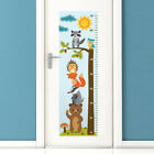 Forest Animals Growth Chart Wall Decal, Kids Room Height Chart Wall Sticker