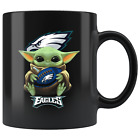 Philadelphia EAGLES Baby Yoda Star Wars Cute Yoda EAGLES Funny Yoda Coffee Mug $14.99 USD on eBay