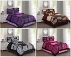 Kyпить Empire Home Safari Damask 4-Piece Comforter Set Bed In A Bag - New Arrival Sale! на еВаy.соm