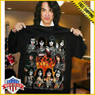 KISS Band T-Shirt End of the Road Farewell Tour 2019 Black Unisex Tee image