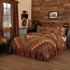 COUNTRY PRIMITIVE FARMHOUSE HERITAGE FARMS PATCHWORK QUILT COLLECTION VHC BRANDS