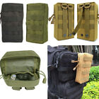 Tactical Molle Utility Pouch Waist Belt Bag Outdoor Pocket Military With Zipper