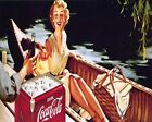 Coca Cola Vintage Poster Collection (22) - Van-Go Paint-By-Number Kit $46.73  on eBay