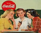 Coca Cola Vintage Poster Collection (48) - Van-Go Paint-By-Number Kit $31.15  on eBay