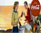 Coca Cola Vintage Poster Collection (50) - Van-Go Paint-By-Number Kit $31.15  on eBay