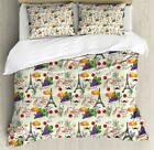Modern Romantic Duvet Cover Set Twin Queen King Sizes with Pillow Shams