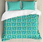 Abstract Composition Duvet Cover Set Twin Queen King Sizes with Pillow Shams