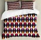 Oriental Geometry Duvet Cover Set Twin Queen King Sizes with Pillow Shams