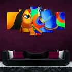 Lord+Krishna+Art+Split+5+Frames+Wall+Panels+for+Living+Room+%23154-+HKTPIC-AU