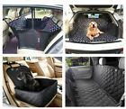 Car Rear Back Seat Mat Car Boot Safety Cover Hammock Protector for Pet Dog Cat