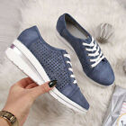Womens Breathable Trainers Sneakers Ladies Sport Running Wedge Pumps Shoes Size