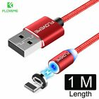 Phone Cable LED Magnetic Charger Cables Universal 1/2M Cord USB Charging Cords