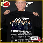 007 58th James Bond 007 1962-2020 25 Films T-shirts Black Unisex S-6XL FREESHIP $22.99 USD on eBay