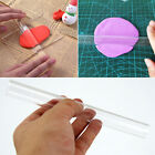 1pc Durable Polymer Clay Craft Clear Acrylic Roller Rolling Pin Art Tools Kit image