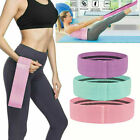 Cloth Fabric Resistance Hip Booty Bands Loop Set of 3 Exercise Workout Fitness image