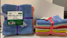 """WASHCLOTH / DISHCLOTHES 12""""x12"""" 6,8,12,18,24 PIECES PER PACK 100 COTTON"""