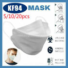 KF94 (5/10/20/pcs) triple 94% filter protective cover Anti-Sneeze 4-Lay USA
