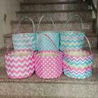 Chevron & Dots Easter Basket