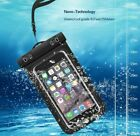 Swimming Skiing Hunting Outdoors Waterproof Pouch Pack Dry Case Cell Phones LOT