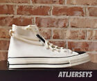 Converse x Fear of God Essentials Chuck 70 Natural Ivory Black 167955C Size