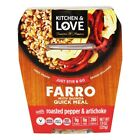 Kitchen & Love - Farro with Quinoa Quick Meal Grilled Vegetables & Herbs