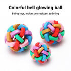 Pet cat dog Bell Ball Durable Chew Toy Interactive Cat Toy 3 Size fits Most Pets