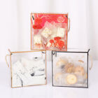 New Transparent Cube Candy Handle Boxes Wedding Party Favour Packaging Boxes Bag