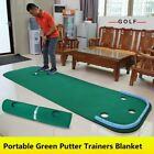 Home Golf Training Putting Mat Green Family Practicing Portable Exercise Blanket