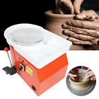 350W 25CM Electric Pottery Wheel Machine For Ceramic Work Clay Art Craft Molding image