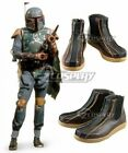 Star Wars Boba Fett Brown Cosplay Shoes $61.74 CAD on eBay