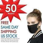 Black Face Mask. Water Resistant Polyurethane. Adult. Fast Shipping and Delivery