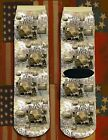 Battle of Pea Ridge American Civil War/War Between the States crew socks