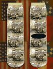 Battle of Spotsylvania American Civil War/War Between the States crew socks