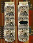 John Wilkes Booth American Civil War/War Between the States crew socks