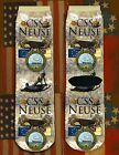 CSS Neuse American Civil War/War Between the States crew socks