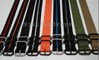 JaysAndKays  22mm 1-Piece 3-Ring Heavy Duty Diver Watch Strap