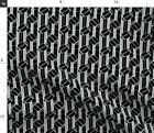 Oakland Raiders Football Team Colors Black Fabric Printed by Spoonflower BTY $20.5 USD on eBay
