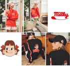 [PEKO-CHAN] PEKO MILKY HATSON Long Sleeves Sweat Shirt Basic Style T-Shirts