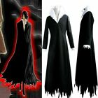 Tensa Zangetsu Bleach Anime Cosplay Costume Black