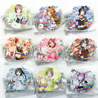 Love Live! Nijigasaki High School Acrylic Clip Collection / Kasumi Rina Emma...