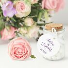 Personalised Adorable Tags 50Mm Wedding Favours Kraft Ivory Or White