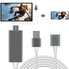 1080P HDMI Mirroring Phone to TV HDTV Cable For iPhone/Android/Samsung Universal