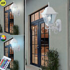 LED Wall Lantern Country House Style RGB Remote Control Outdoor Lamp Dimmable