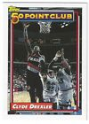 1992 – 93 Topps Series 2 Basketball cards #199 to #215 (50 Point Club)