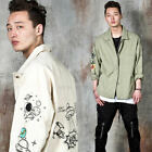 NewStylish Mens Cartoon shirt jacket