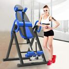New Foldable Premium Gravity Inversion Table Back Therapy Fitness Reflexology image