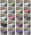 Ambesonne Vintage Abstract Flat Sheet Top Sheet Decorative Bedding 6 Sizes