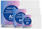 Reeves Pack of 5 Painting Boards Choose Acrylic or Watercolour in A5, A4 & A3